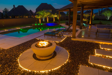 Fire Pit and Pool